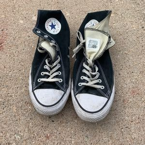Men's size 12 high top converse